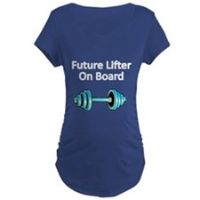 Future Lifter On Board 2 Maternity T-Shirt