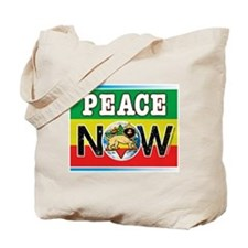 Rasta Peace Now Tote Bag