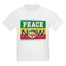 Rasta Peace Now Kids T-Shirt