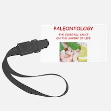 paleontology Luggage Tag