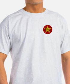 Head Boy - Star design in Red and Gold Ash Grey T-