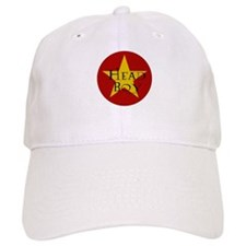Head Boy - Star design in Red and Gold Baseball Cap