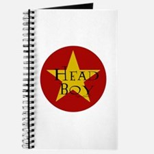 Head Boy - Star design in Red and Gold Journal
