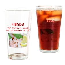 nerd Drinking Glass