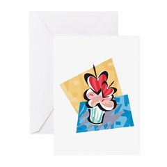Two Hearts Greeting Cards (Pk of 10)