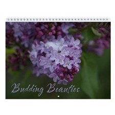 Budding Beauties Wall Calendar