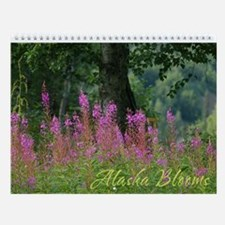Alaska Blooms Wall Calendar