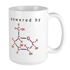 Powered by Glucose Coffee Mug