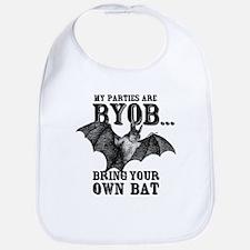 BYOB Bring Your Own Bat Bib