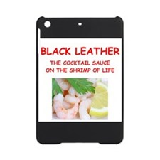 black leather iPad Mini Case