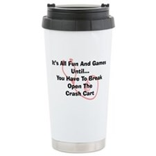 Its all fun and games Travel Mug