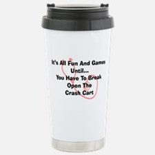 Its all fun and games Travel Mug