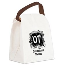 OT Splash Canvas Lunch Bag