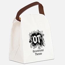 OT Splash Canvas Lunch Bag
