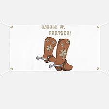 Saddle Up Partner Banner