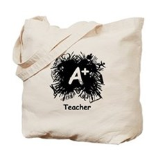 Teacher Splash Tote Bag