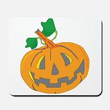 Halloween Carved Pumpkin Mousepad