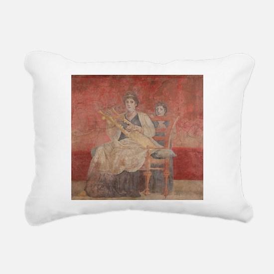 Cute Pompeii Rectangular Canvas Pillow