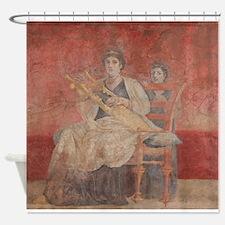 Cute Pompeii Shower Curtain