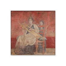 Femme Romaine avec une Lyre Sticker