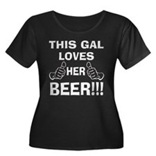 This Gal Loves Her Beer T