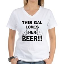 This Gal Loves Her Beer Shirt