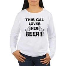 This Gal Loves Her Beer T-Shirt