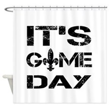 Its Game Day Shower Curtain
