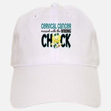 Cervical Cancer Messed With Wrong Chick Baseball Baseball Cap