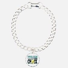 Cervical Cancer Messed With Wrong Chick Bracelet
