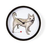 Chihuahua Wall Clocks