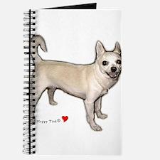Cute Heart Chihuahua Journal