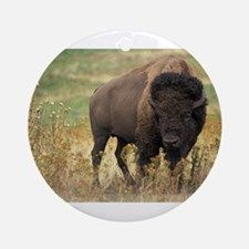 American buffalo Ornament (Round)