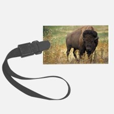 American buffalo Luggage Tag