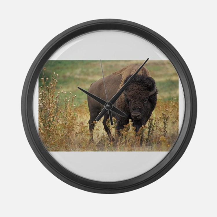 American buffalo Large Wall Clock