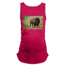 American buffalo Maternity Tank Top
