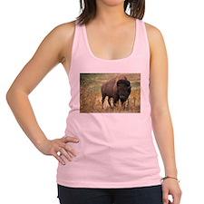 American buffalo Racerback Tank Top
