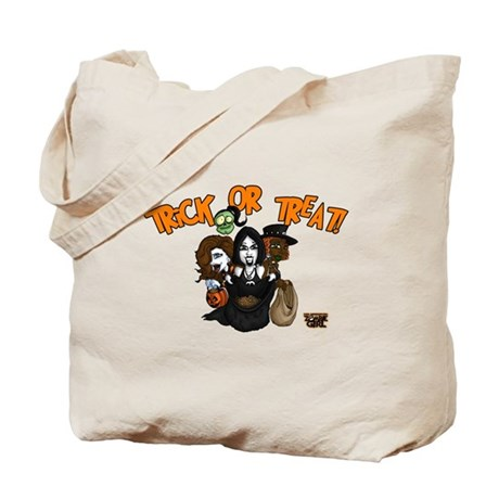 Immortal Zombie Girl Trick or Treat Bag