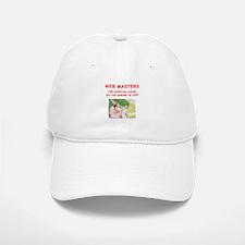 web master Baseball Baseball Baseball Cap