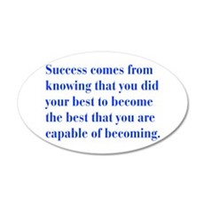 success-bod-blue Wall Decal