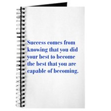 success-bod-blue Journal