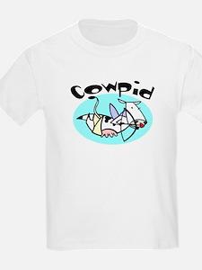 Cowpid (Cupid Cow) Kids T-Shirt