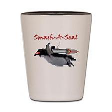 Smash-A-Seal Flying Penguin Shot Glass