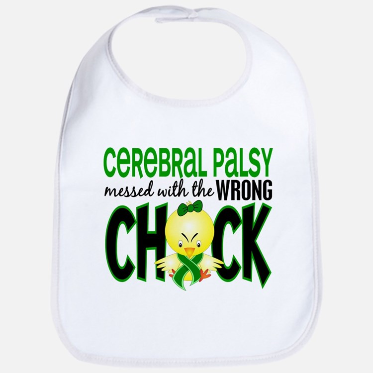 Cerebral Palsy Messed With Wrong Chick Bib