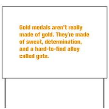 gold-medal-akz-orange Yard Sign