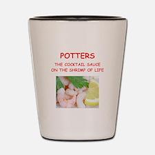 POTTERS Shot Glass