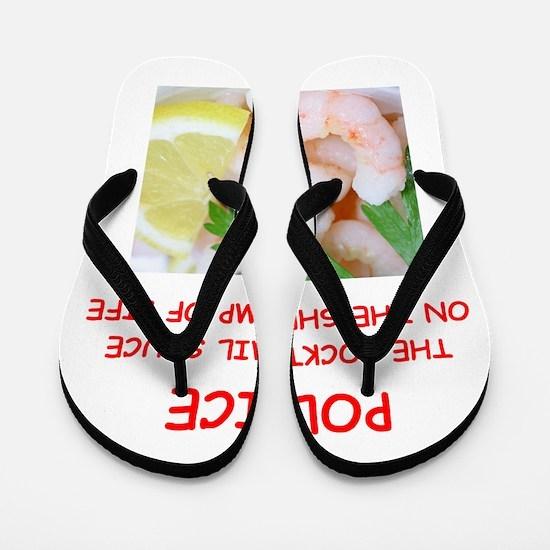 police Flip Flops