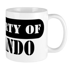Property of Rolando Mug