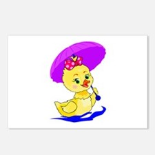 Pretty Ducky Postcards (Package of 8)