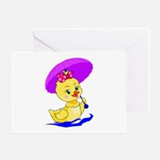 Pretty Ducky Greeting Card